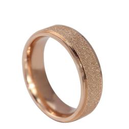 18k Rose Gold Plated Stardust Stainless Steel Rings Valentin