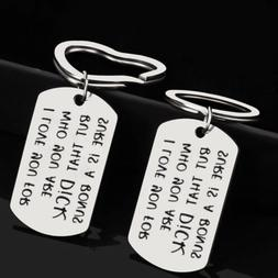 1PC Stainless Steel Keyring Key Ring Chain Keychain for Coup