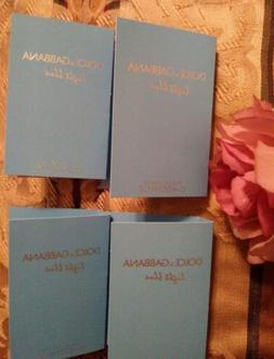 4 Women's Designer Perfume Samples of DOLCE& GABBANA LIGHT B