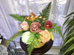 Handmade 9 Flowers Soap Bouquet Valentine's Day ,Gift For