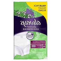 Always Discreet, Incontinence Underwear, Maximum Absorbency,