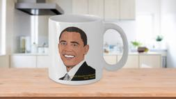 Barack Obama coffee mug tea cup gift for her novelty histori