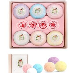 Bath Bombs Gift Set Large Natural Organic Relax Spa Bath Fiz