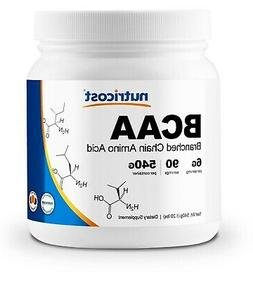 Nutricost BCAA Powder 90 Servings  - 6000mg Per Serving