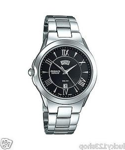 BEM-130D-1A Black Casio Lady Watch Day and date display Anal