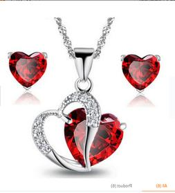 Birthday Gift for Her Girlfriend Wife Mom Girls Heart Pendan