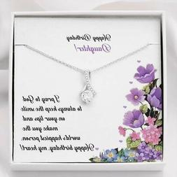 Birthday Gifts For Daughter Mother To Daughter Necklace Anni