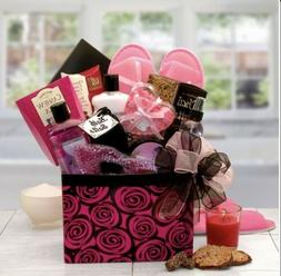 Birthday Valentines Gift for Her Spa Basket Bath & Body Love