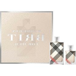 Burberry Brit For Her 3.3 OZ. EDP by Burberry 1 OZ. 2PC. Gif