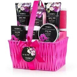 Christmas Gift Baskets for Women, Lovery Spa Gift Set for He