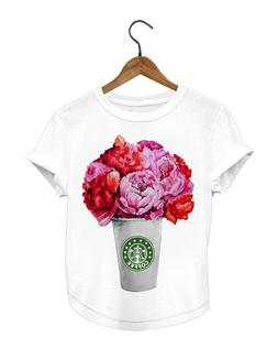 Coffe flower shirt - Gifts for Her - T-shirt - Top & Tees -