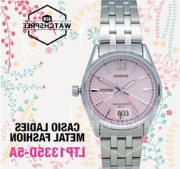 Casio Women's Core LTP1335D-5AV Silver Stainless-Steel Quart