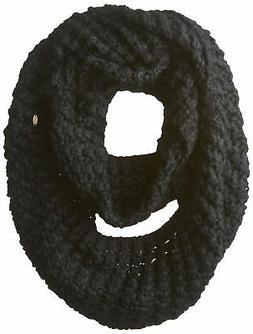 Neff Women's Cori Infinity Scarf, Black, One Size