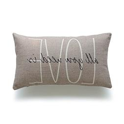 Acelive Personalized Pillowcase 12 x 20 Inches Decorative Lu