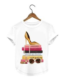 fancy shoes shirt - Gifts for Her - T-shirt - Top & Tees - F