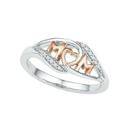 Fashion Rings Mum Mom Gift I Love You Engraved Mother's Day