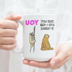 Funny 1 Year Anniversary Gift For Her - Sloth Gifts For Wome