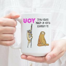 Funny 18 Year Anniversary Gift For Her Sloth Gifts For Women