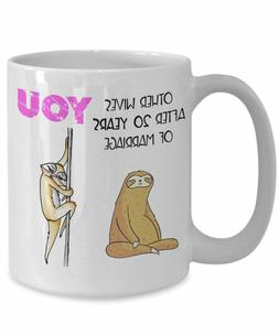 Funny 20 Year Anniversary Gift For Her Sloth Gifts For Women