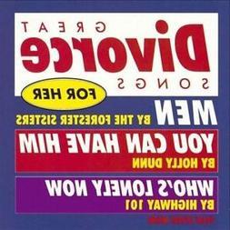 Great Divorce Songs for Her Various Artists CD 1994 Warner B