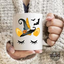 Halloween Unicorn Coffee Mug Gift For Her Coworker Unicorn F