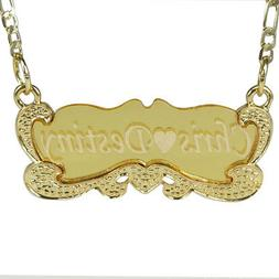 Handmade 18K Gold Plated Custom Any Personalized Name Neckla