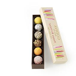 Godiva Chocolatier Happy Birthday Cake Truffle Flight 6 Coun
