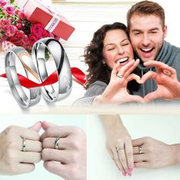 Heart shaped Stainless Steel Real Love Promise Rings Valenti