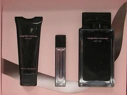 Narciso Rodriguez For Her 3 Pcs Set 3.3 EDT Spray + 0.33 EDT