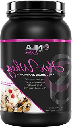 NLA for Her- Her Whey- Lean Whey Isolate Protein for Women-A