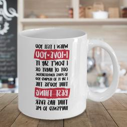 I Love You Anniversary Valentines Day Mug Coffee Cup Gift Fo