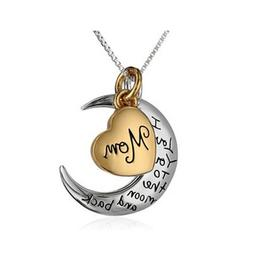 I Love You To Moon Back Valentine's Day Gift for Her for M