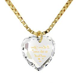 AOBOCO I Love You to The Moon and Back Moon Necklace - Sterl