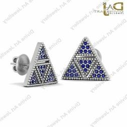 Interactive Robot R2D2 Inspired Earrings Gift For Her Triang