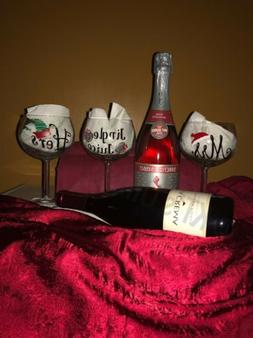 Just For Her Wine Glass Set Of 3. New!