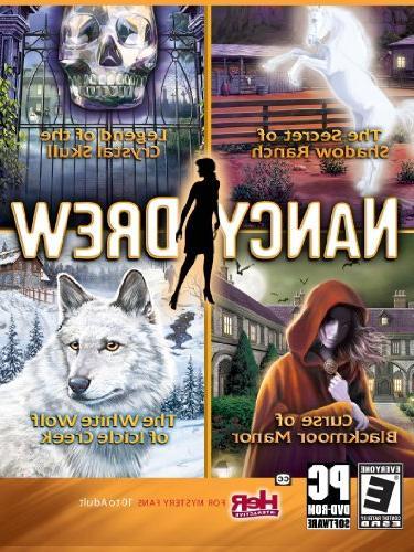 Nancy Drew 4 Pack-Secret of Shadow Ranch, Curse of Blackmoor