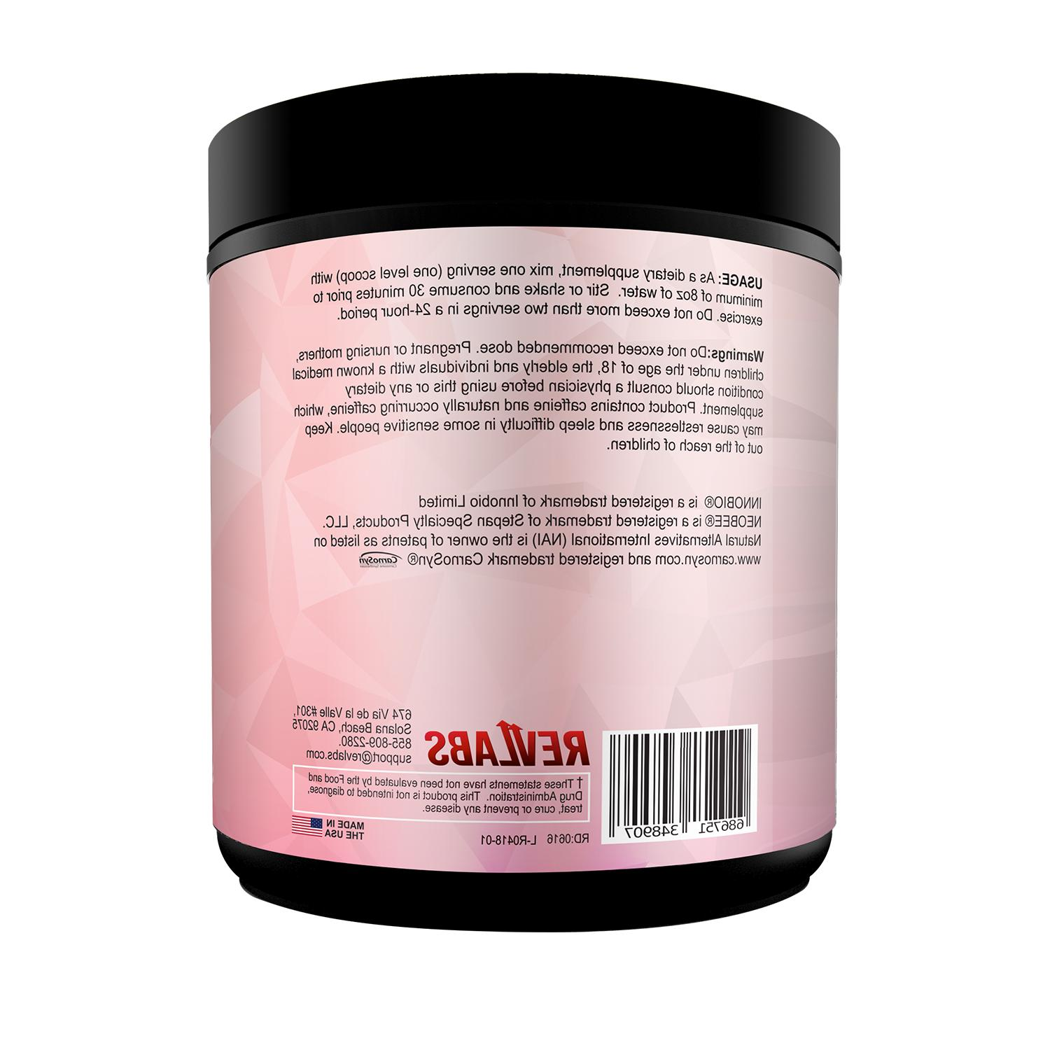 RevLabs ENAMOUR Pre-workout Her, BCAA,