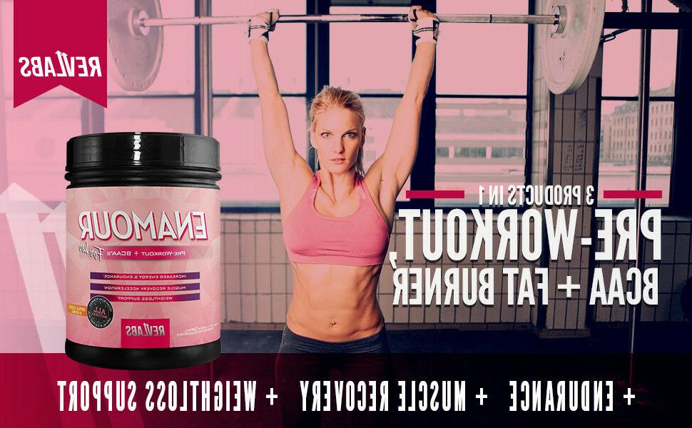 RevLabs ENAMOUR Pre-workout Her, with BCAA, And L-Carnitine
