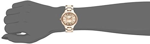 Anne Klein Women's Rose Tone Bracelet Watch