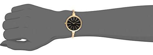 Anne Klein AK/1470GBST Gold-Tone Watch and Set