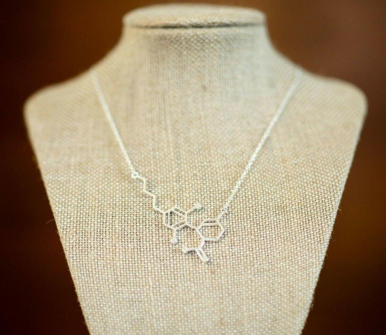 CBD Molecule | Women's Jewelry Nerdy Gift