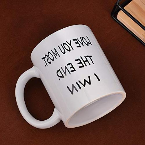 Coffee Most Win Funny Novelty Coffee Cup for Men Women Day Wedding Anniversary
