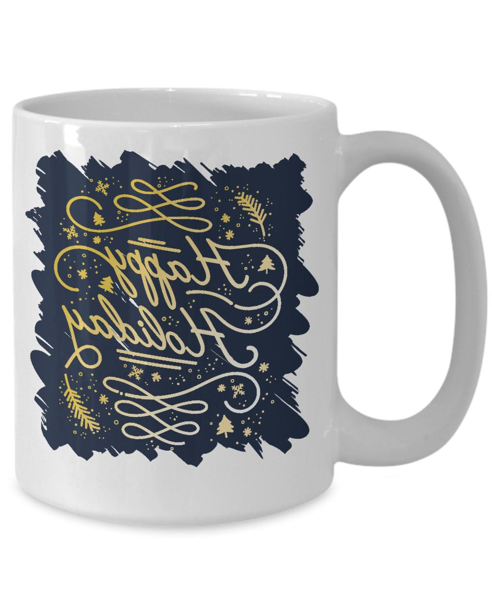 Family Christmas Greetings Mug Gifts Idea For