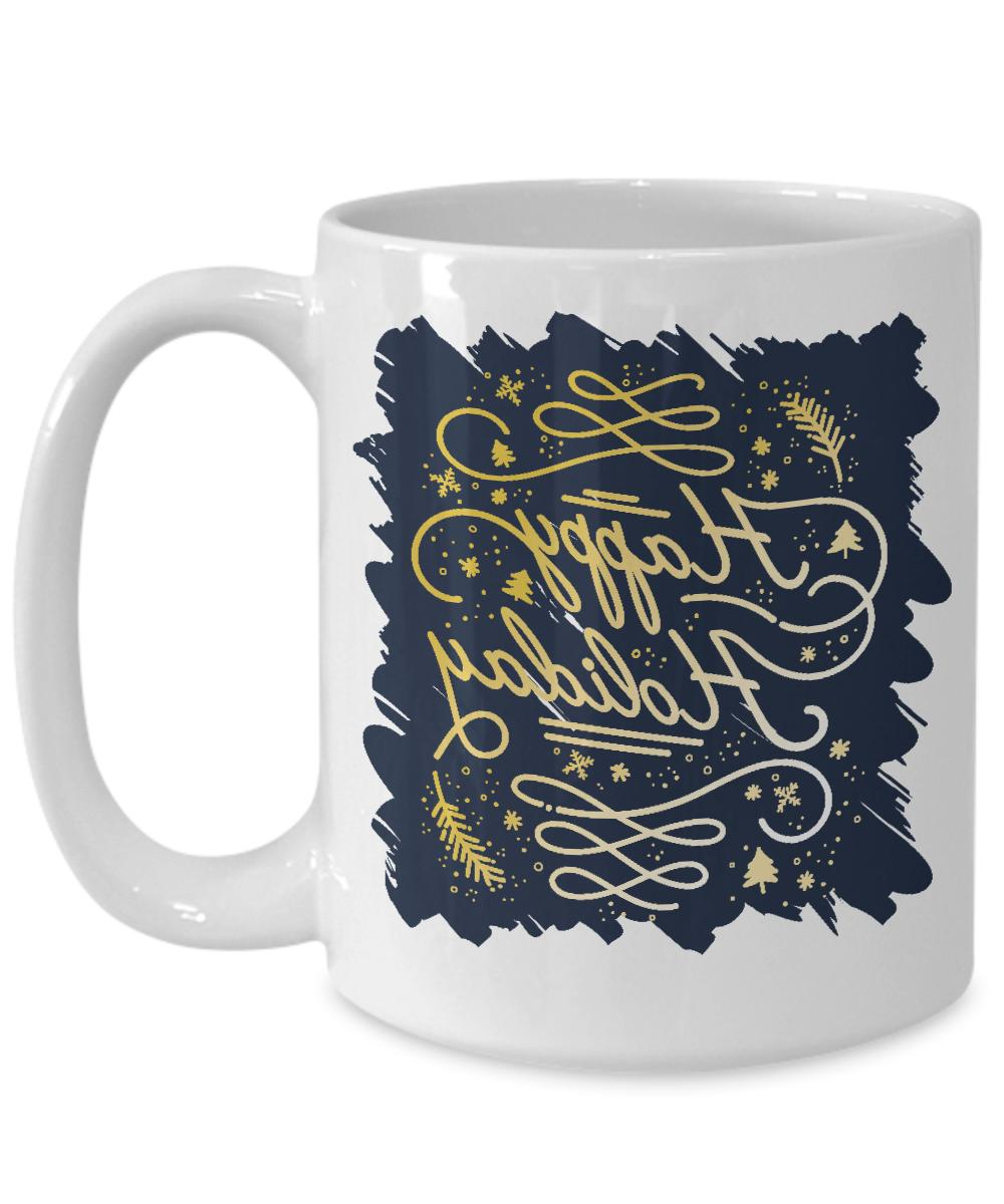 Family Happy Greetings Coffee Mug Gifts Idea For