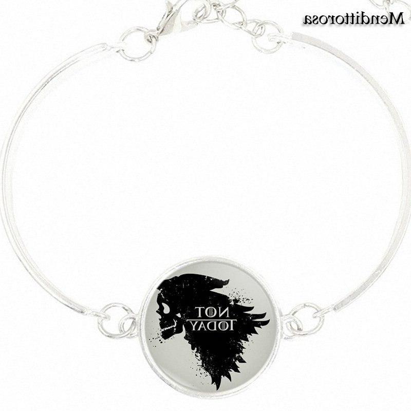 <font><b>For</b></font> <font><b>Her</b></font> Bangle Silver Bracelet Bangle <font><b>Song</b></font> Ice Fire Of Thrones