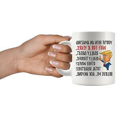 Trump Mug, 8 Anniversary Gifts