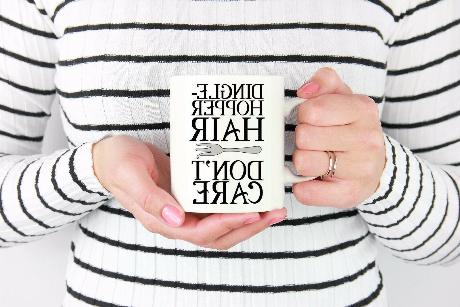 Funny Mermaid Gifts Her, Women Coffee Mug - Dinglehopper