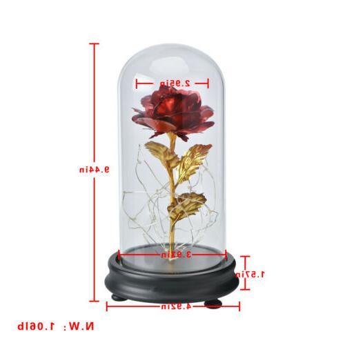WR Glass Golden Flower For Her