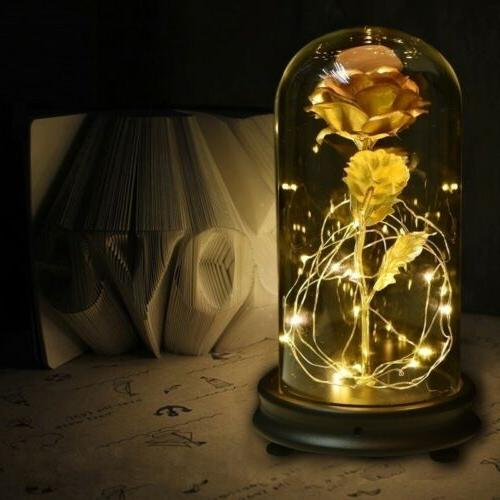 WR Gold Rose Glass Golden For