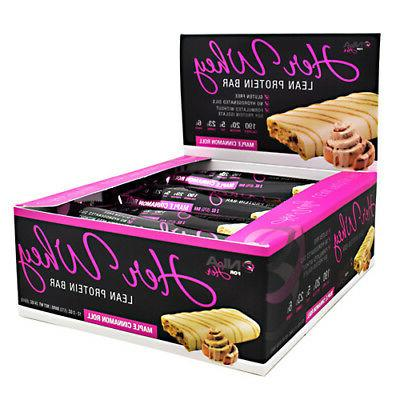 NLA For Her Her Whey Bar, Maple Cinnamon Roll 2oz each W/ CO